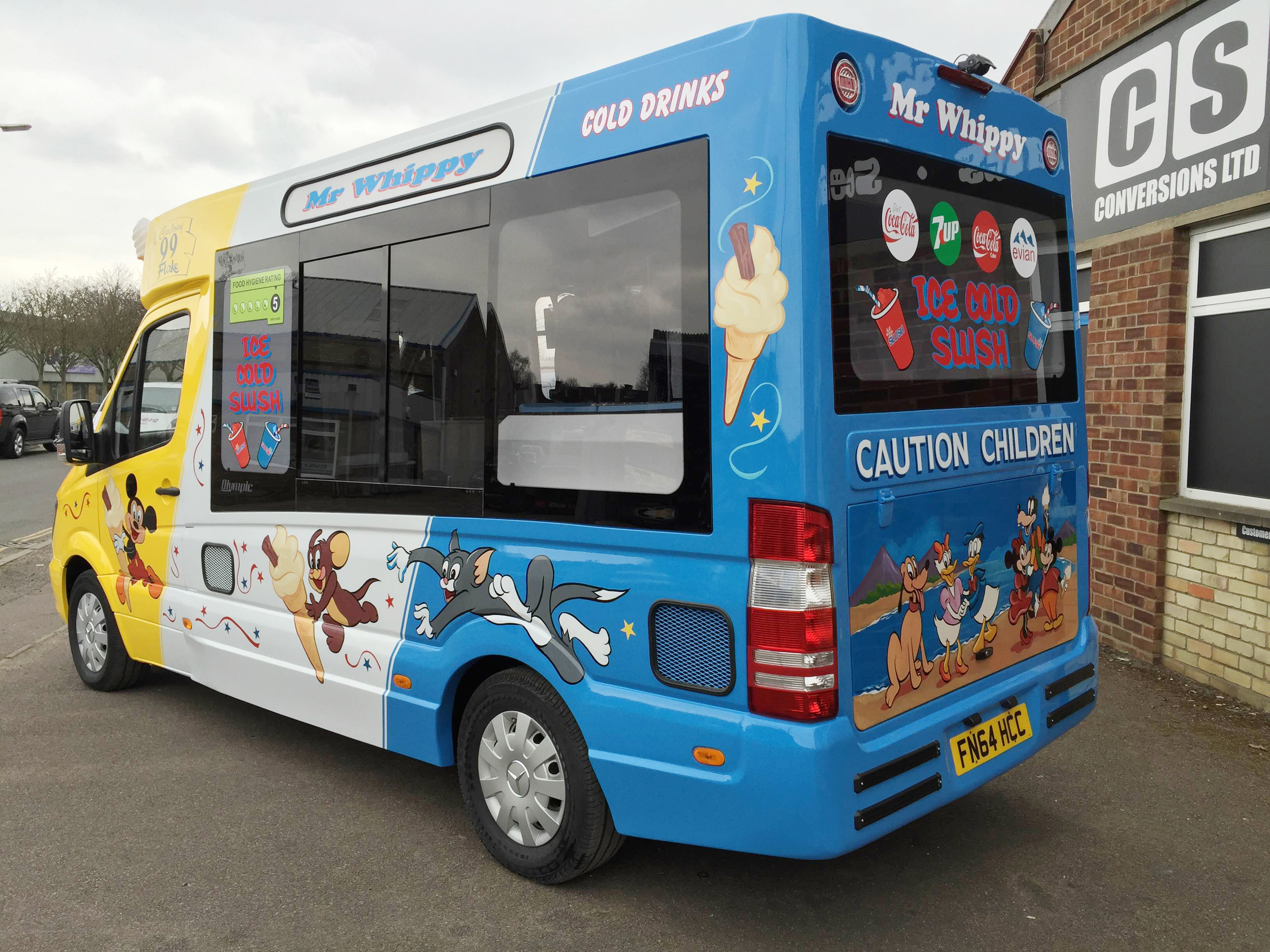 Minibus For Sale >> C S Conversions Limited, specialist ice cream van builders. With the experience and skills ...